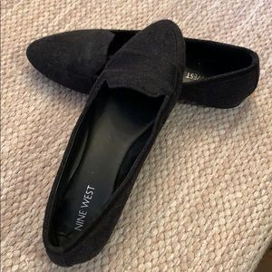 Nine West wool loafers